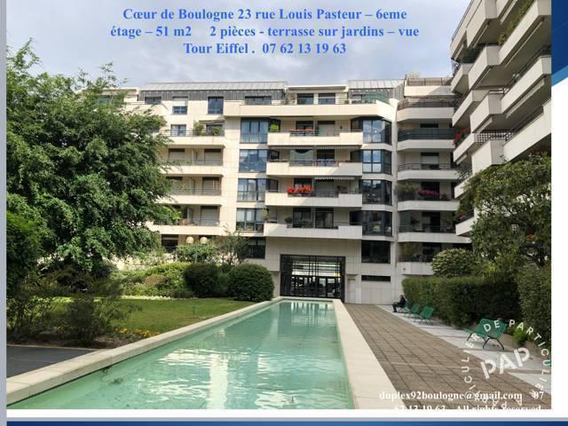 Location Appartement Boulogne-Billancourt (92100) 51m² 2.170€