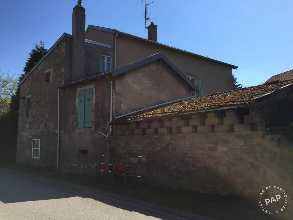 Vente maison 8 pièces Baccarat (54120)