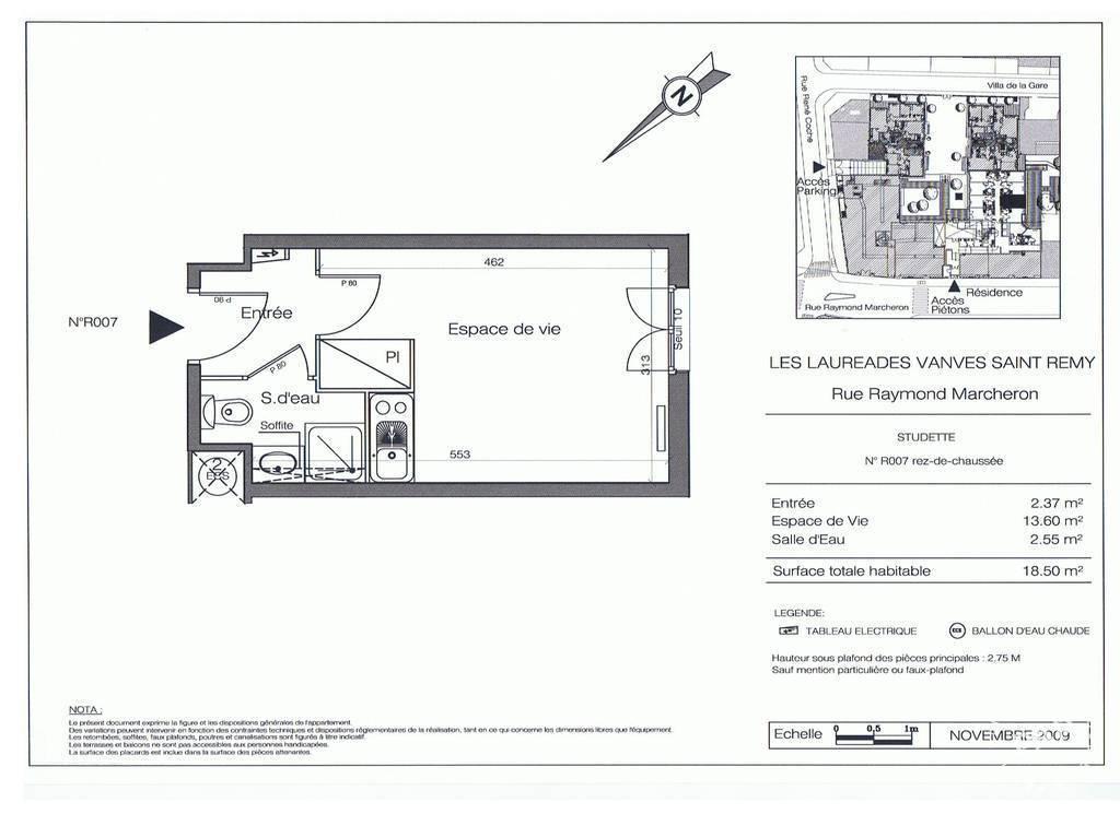 Vente appartement studio Vanves (92170)