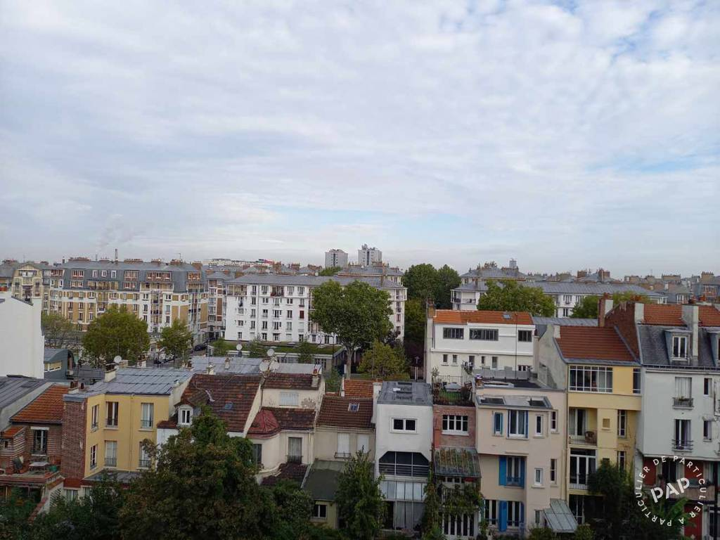 Vente appartement studio Paris 18e