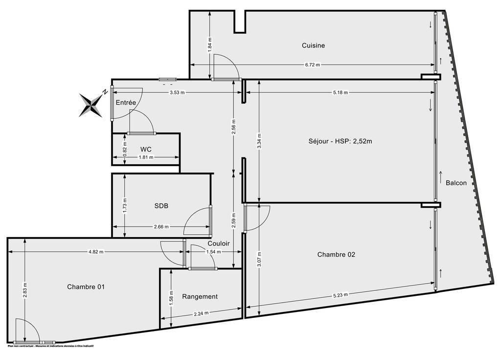 Vente Appartement Paris 11E (75011) 72m² 740.000€