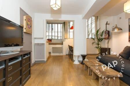 Location appartement studio Paris 1er