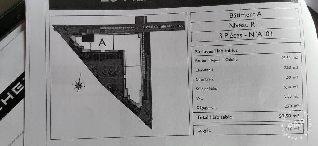 Vente Appartement Lucé 28110, À 5 Km De Chartres 57m² 185.000€