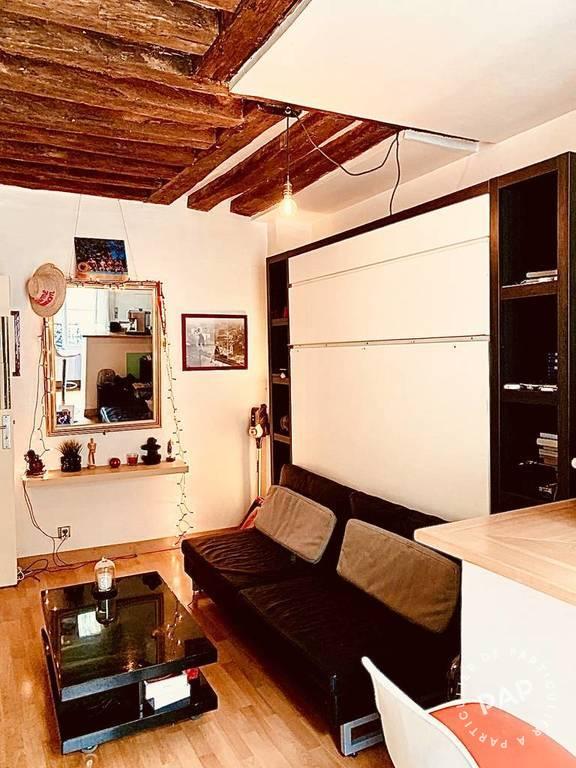Vente appartement studio Paris 2e