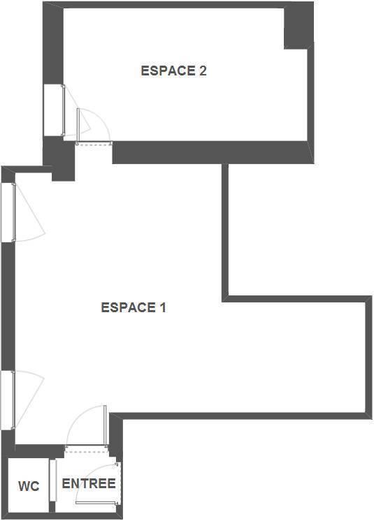 Vente et location Bureaux, local professionnel 51m²