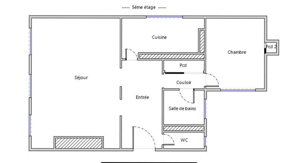 Vente Paris 10E (75010) 65m²