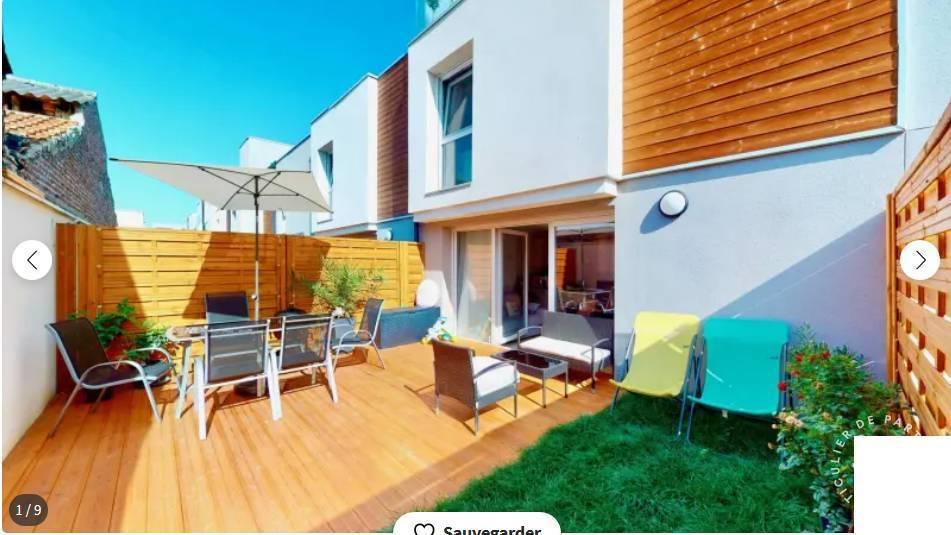 Vente Maison Romainville (93230) 92m² 490.000€