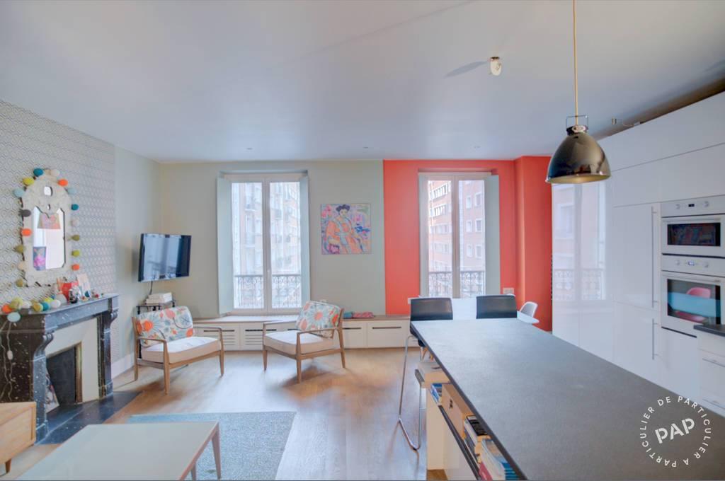 Vente Appartement Paris 17E (75017) 64m² 850.000€