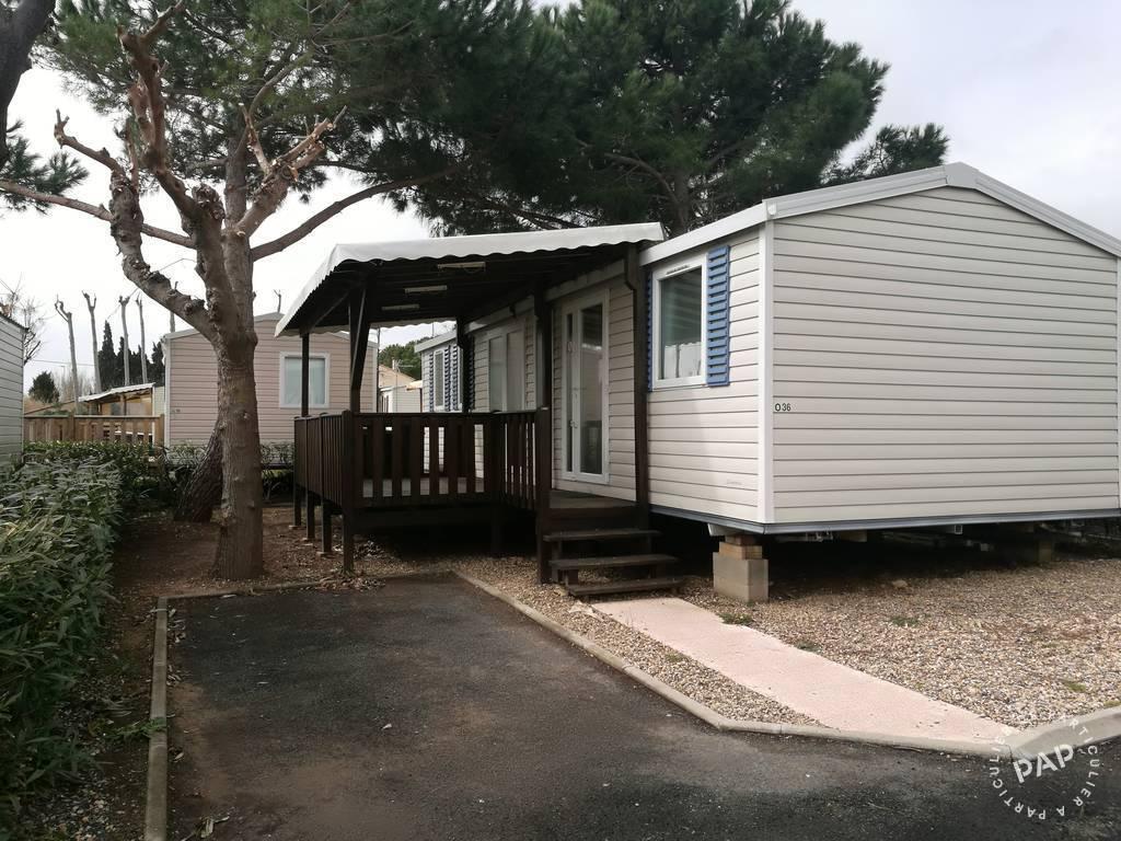 Vente Chalet, mobil-home Sérignan (34410)  29.000€
