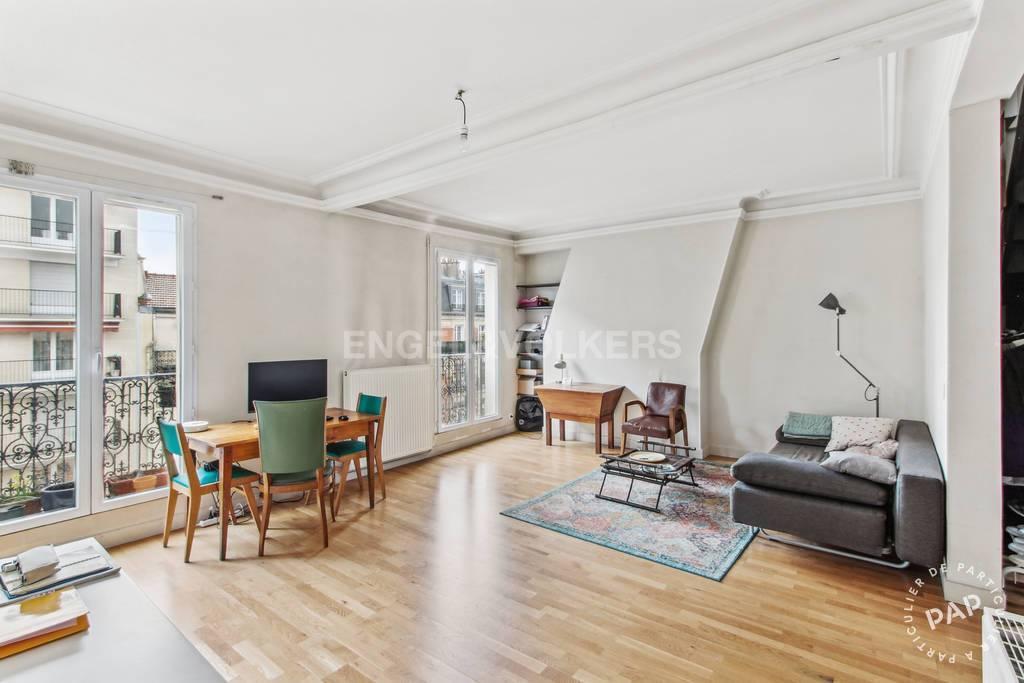 Vente Appartement Paris 14E (75014) 60m² 600.000€