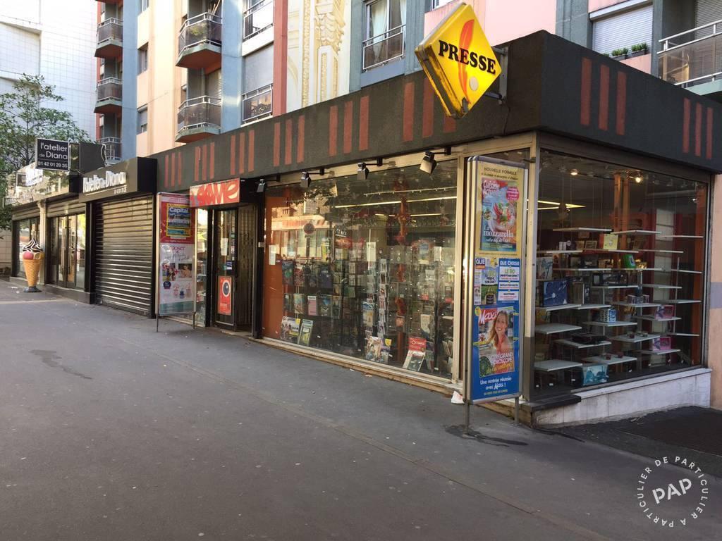 Vente et location Fonds de commerce Paris 19E (75019)  67.000€