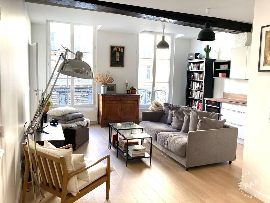 Vente Appartement Paris 3E (75003) 60m² 765.000€