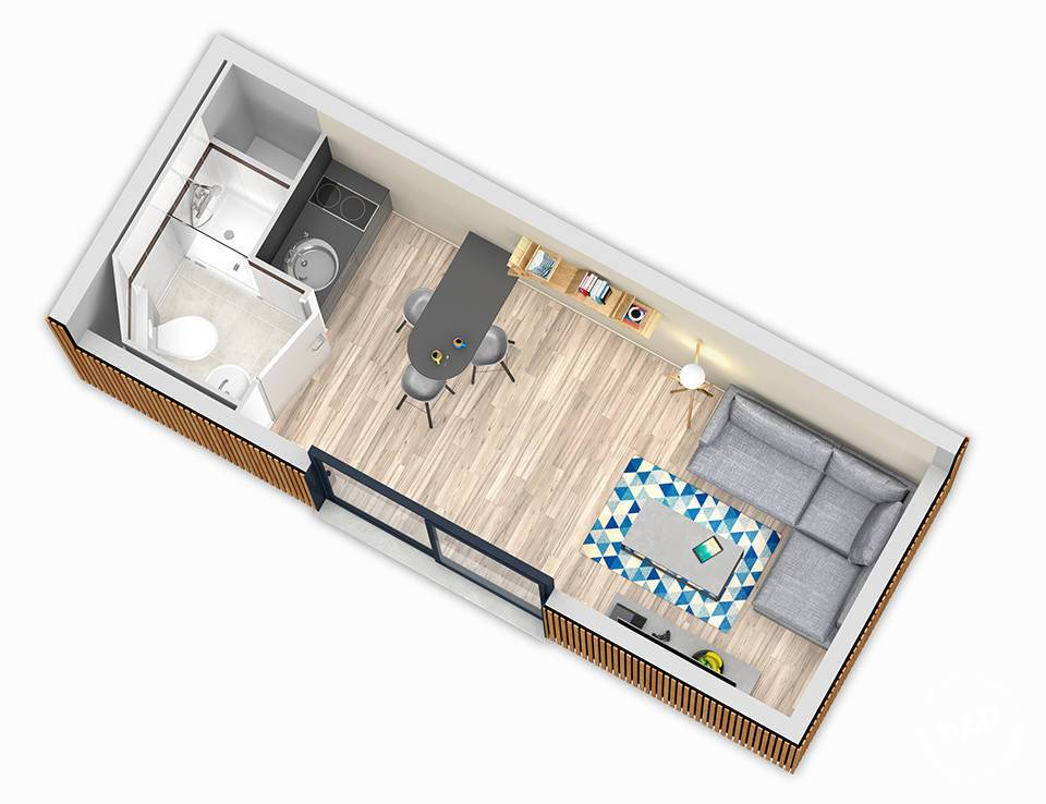 Appartement Ballainvilliers (91160) 30.000€