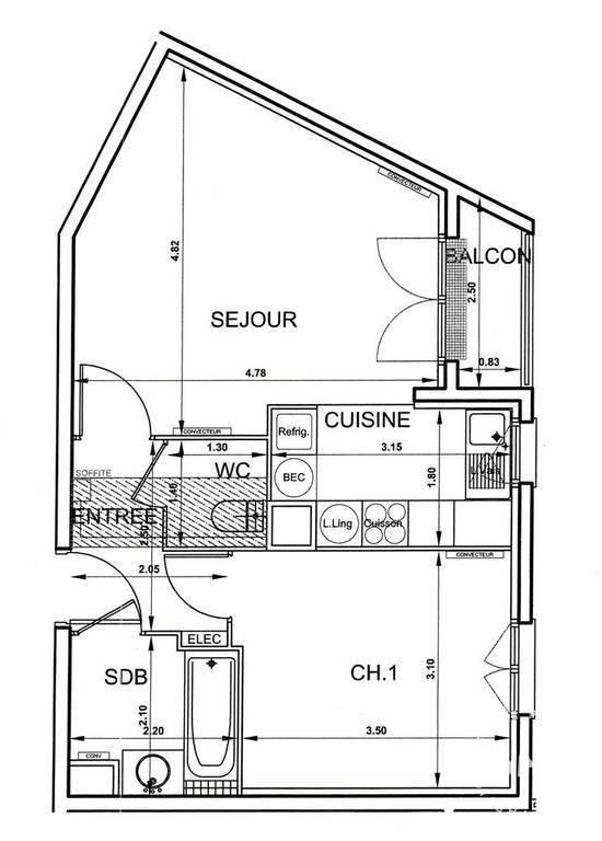 Immobilier Corbeil-Essonnes (91100) 139.000€ 44m²