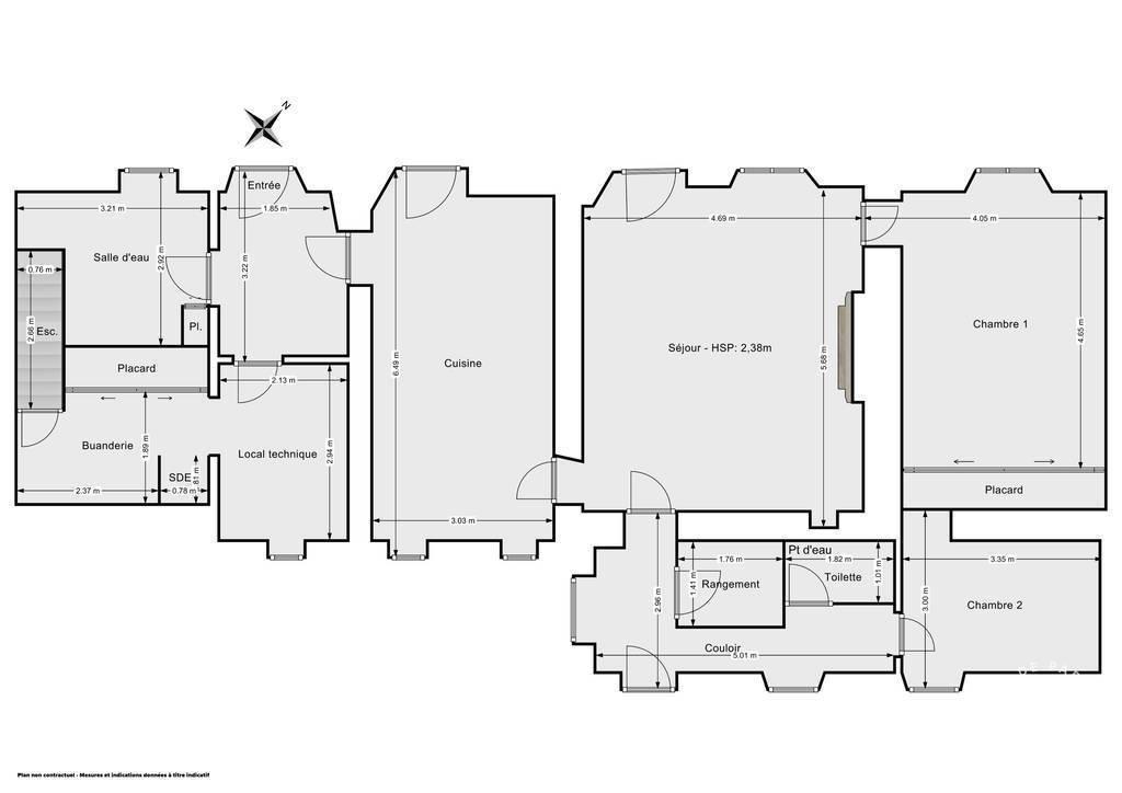 Vente Maison Dampierre 100m² 220.000€