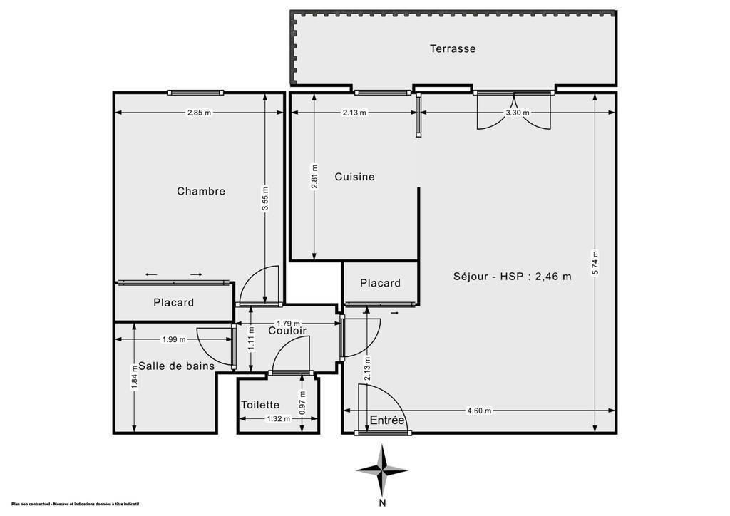 Vente Appartement Port-Sainte-Foy-Et-Ponchapt (33220) 54m² 70.000€