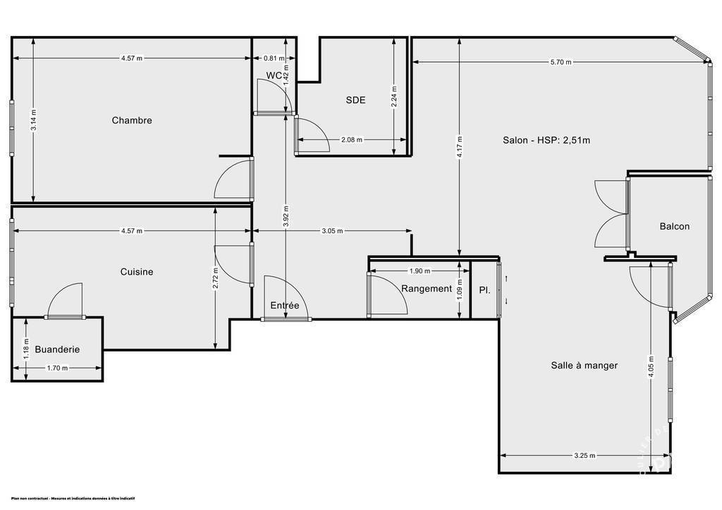 Vente Appartement Lyon 7E (69007) 78m² 400.000€