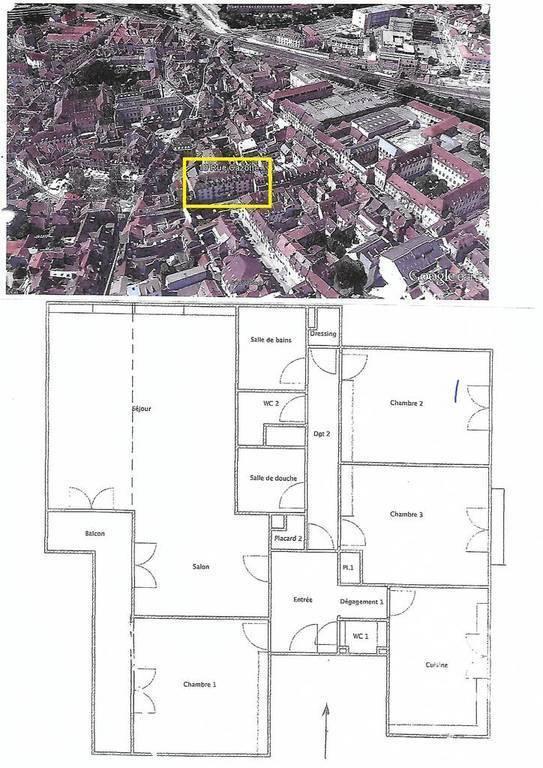 Vente appartement 6 pièces Dijon (21000)