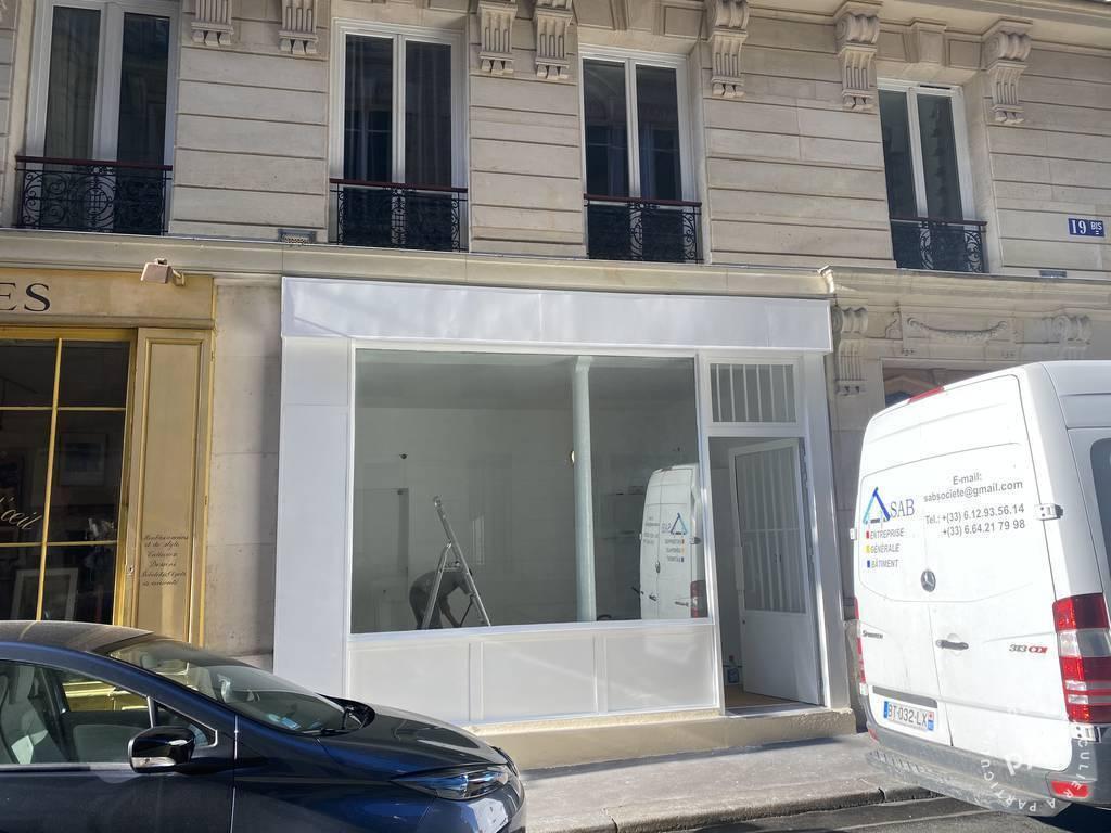 Vente et location Local commercial Paris 16E (75016) 23m² 1.800€