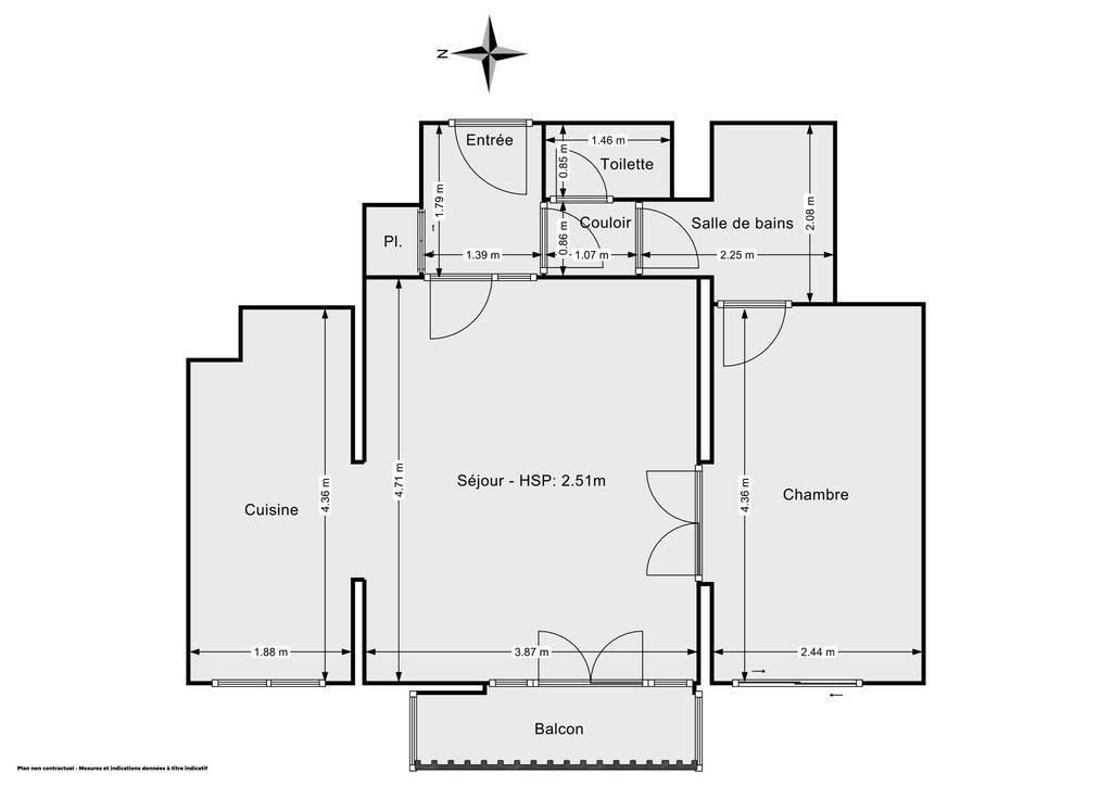 Vente Appartement Neuilly-Sur-Marne (93330) 46m² 156.000€