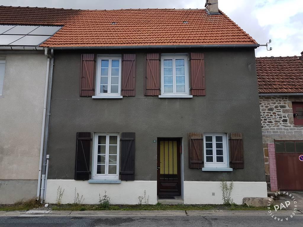 Vente maison 4 pièces Saint-Maurice-la-Souterraine (23300)
