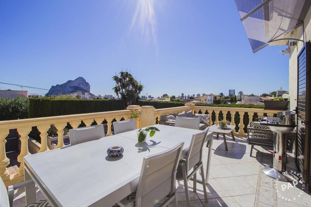Vente Maison Calpe Espagne 287m² 575.000€