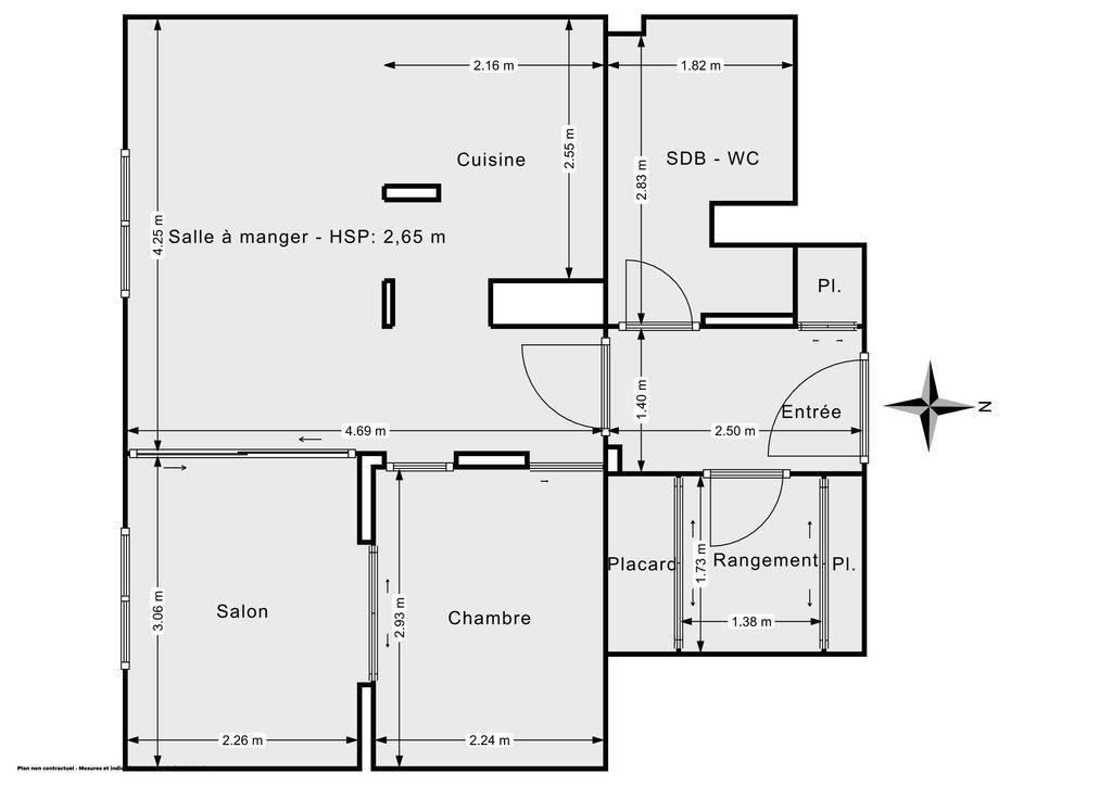 Vente Appartement Versailles (78000) 45m² 359.000€