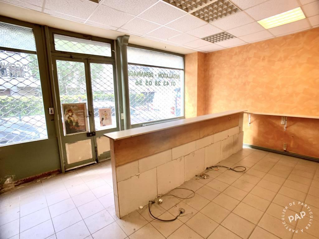 Vente et location Local commercial Saint-Mandé (94160) 49m² 345.000€