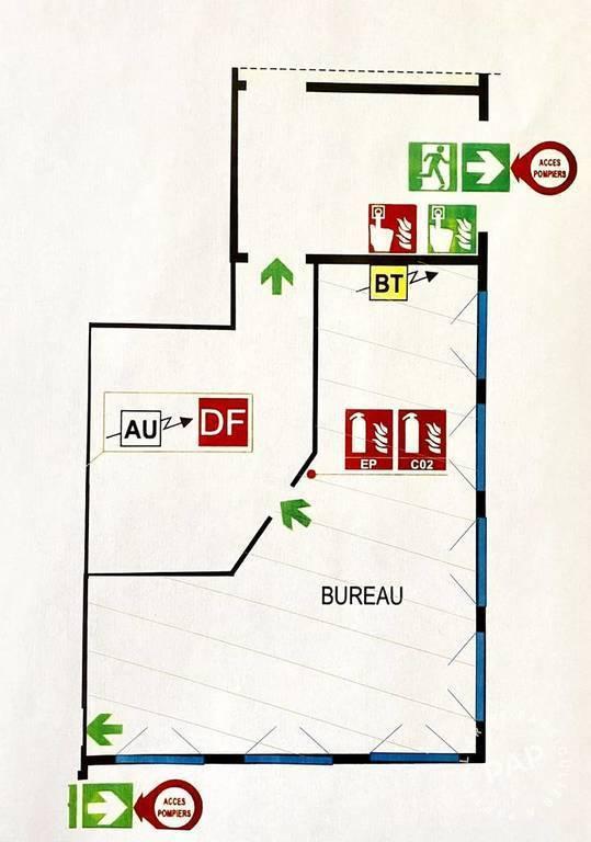 Bureaux, local professionnel 78m²