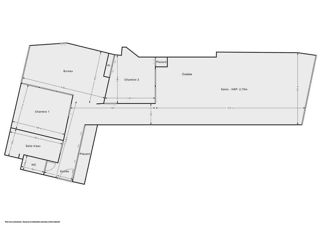 Vente Appartement Montreuil (93100) 115m² 805.000€