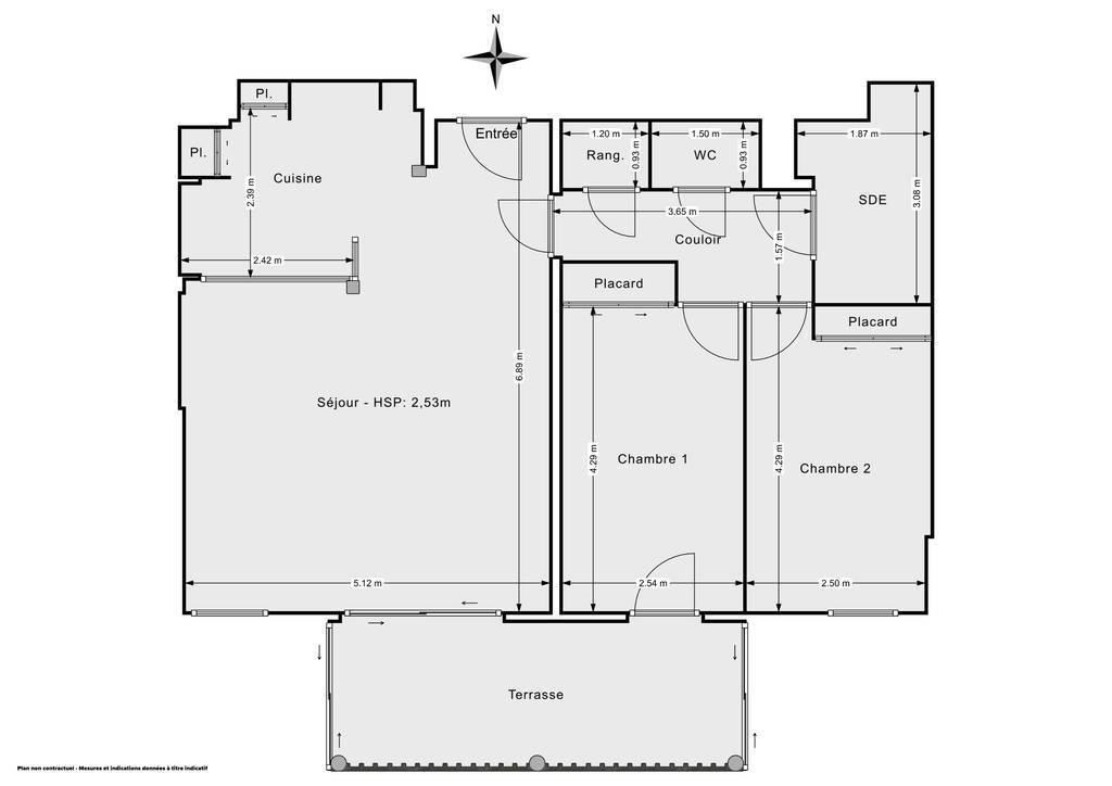 Vente Viager Hyères (83400) 70m² 163.000€