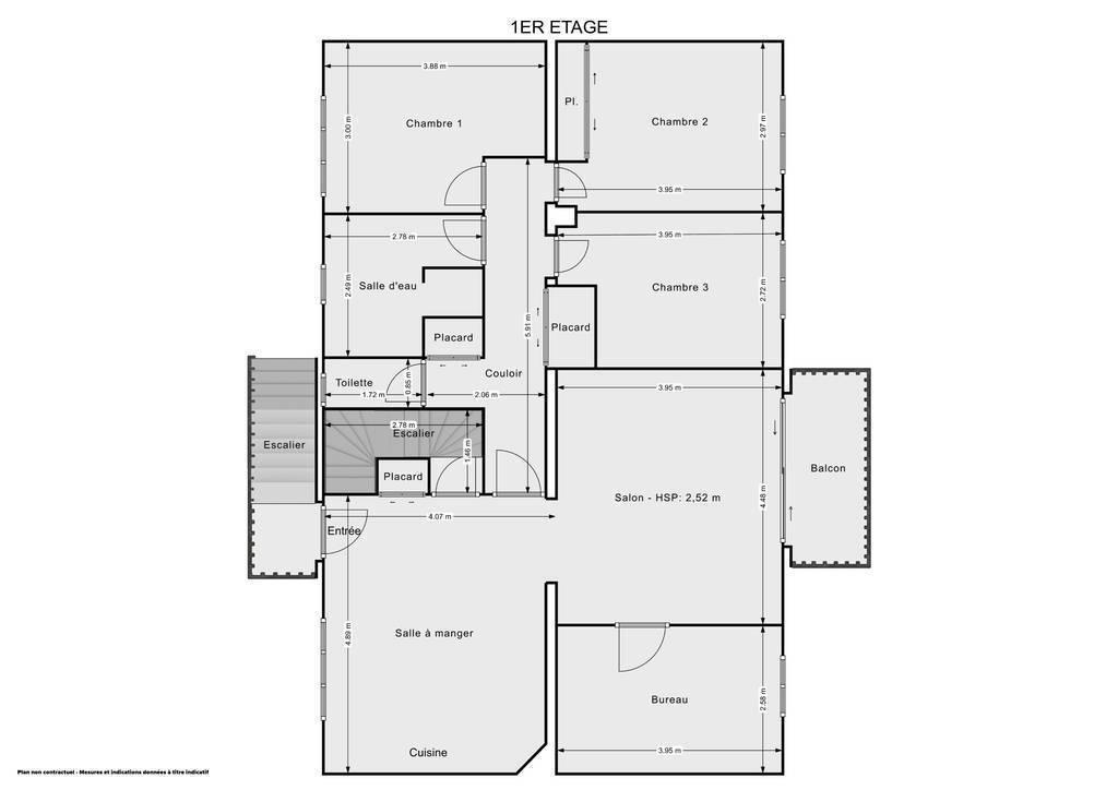 Vente Maison Billom (63160) 195m² 349.000€