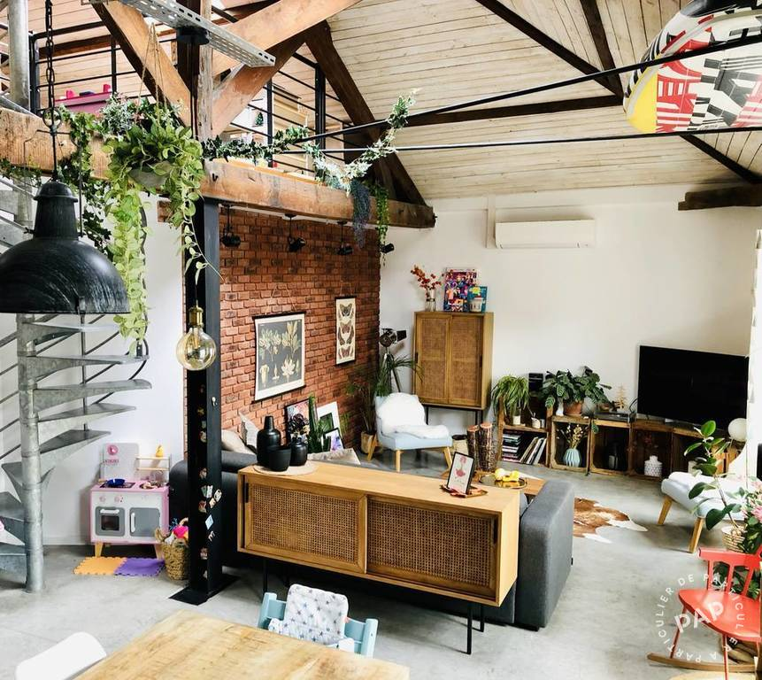 Vente appartement 5 pièces Le Pré-Saint-Gervais (93310)