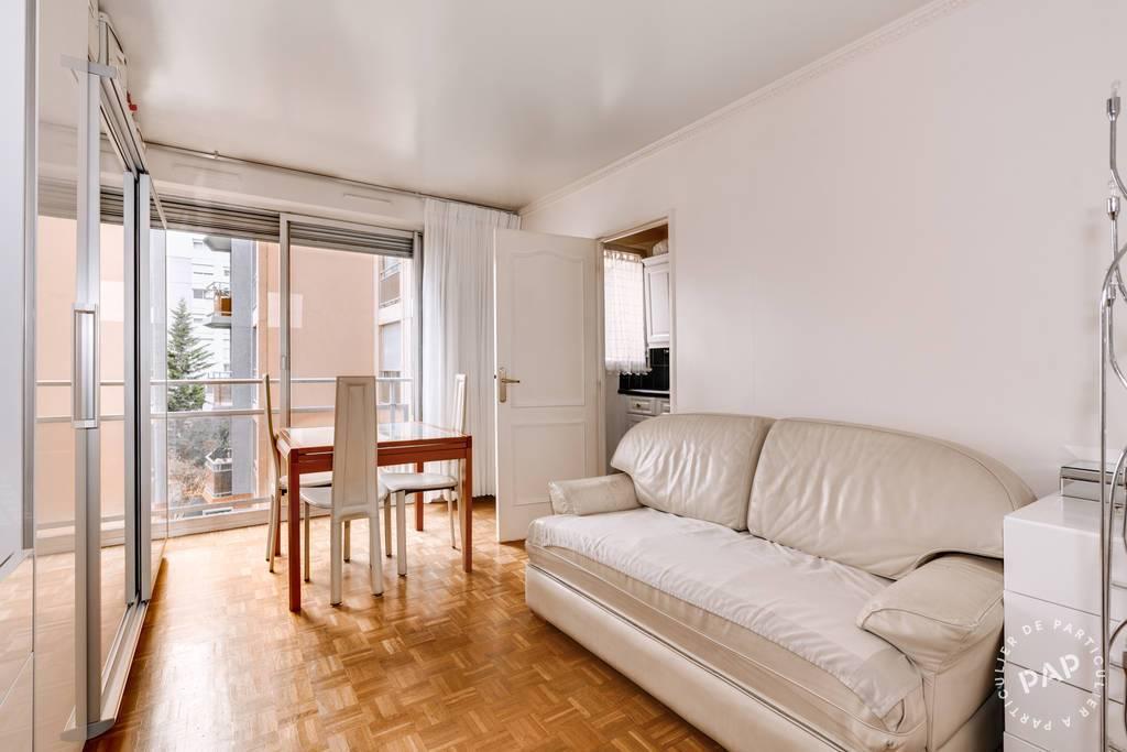 Vente appartement studio Paris 19e