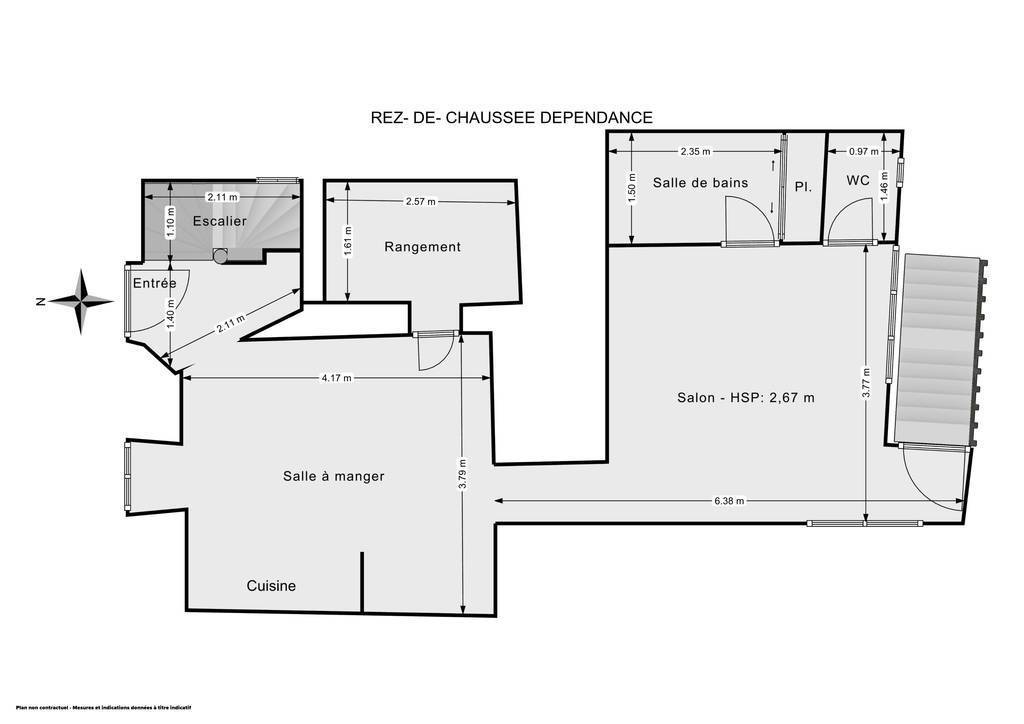 Maison 55m²