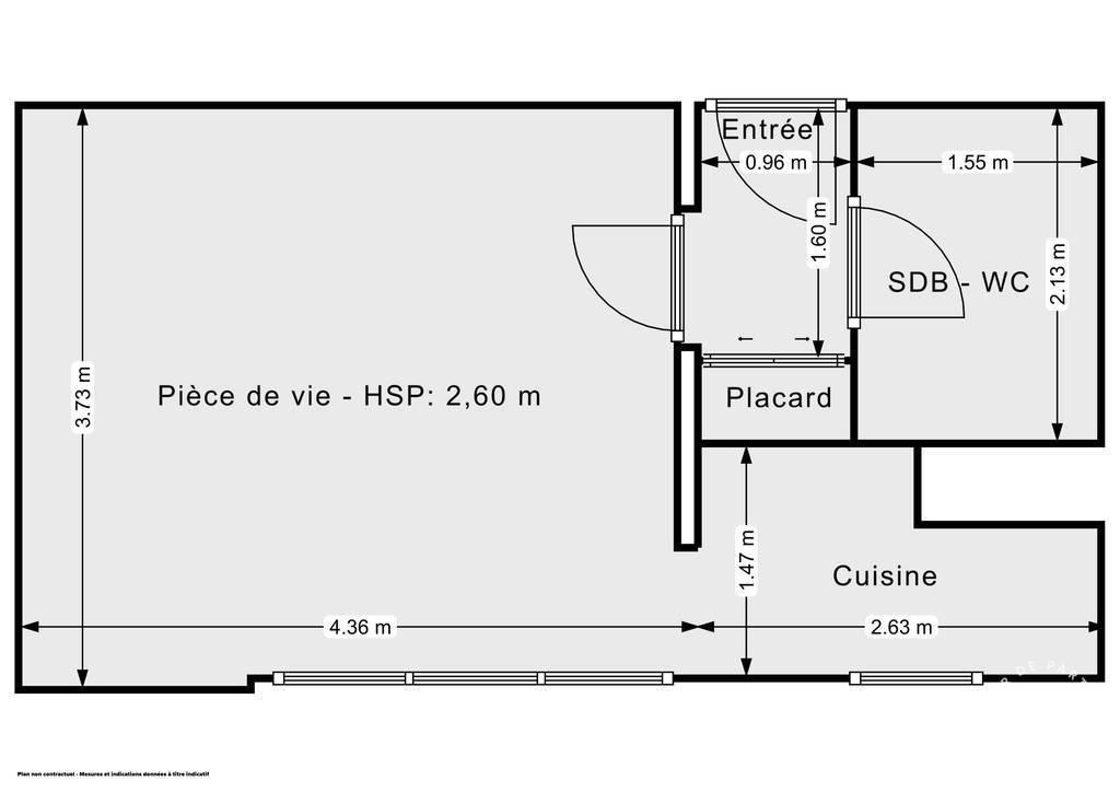 Vente Appartement Crépy-En-Valois (60800) 23m² 85.000€