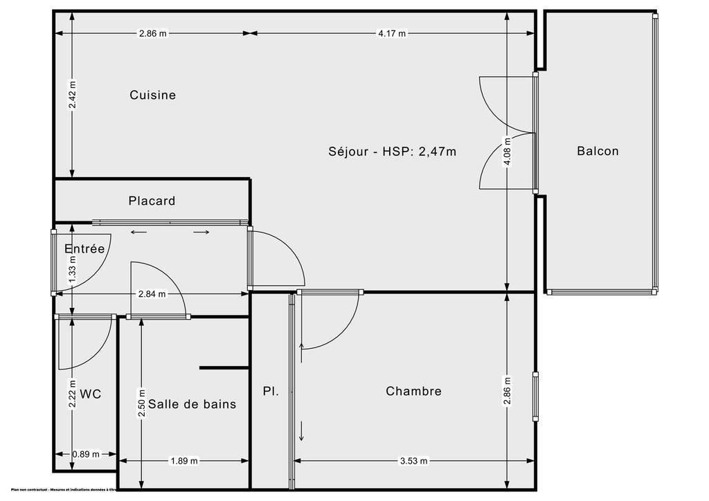 Vente Appartement Auterive 46m² 85.000€
