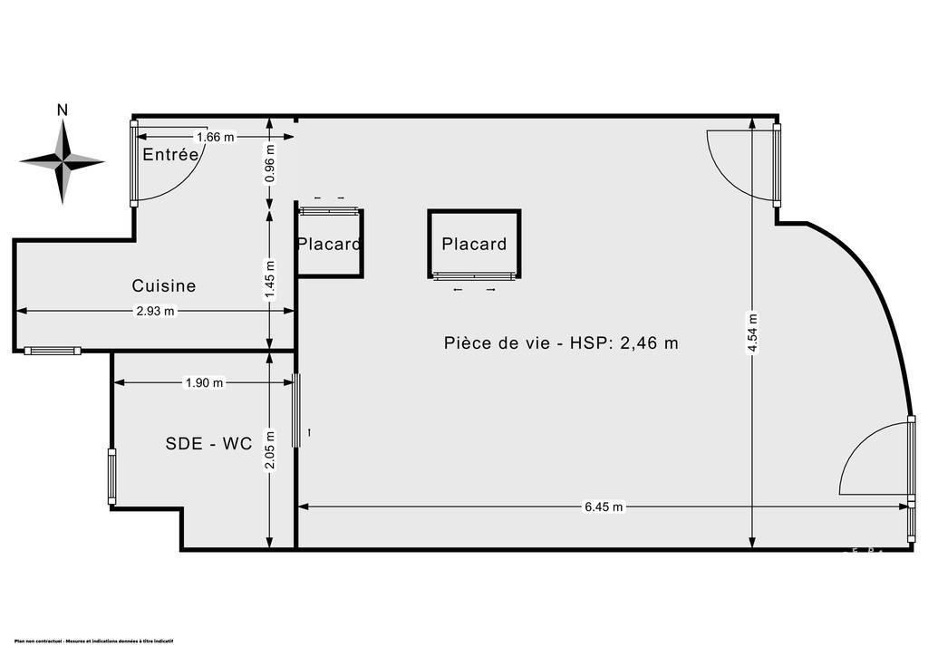 Vente Appartement Toulouse (31000) 36m² 145.000€