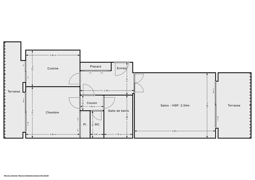 Immobilier Golfe Juan 256.000€ 52m²
