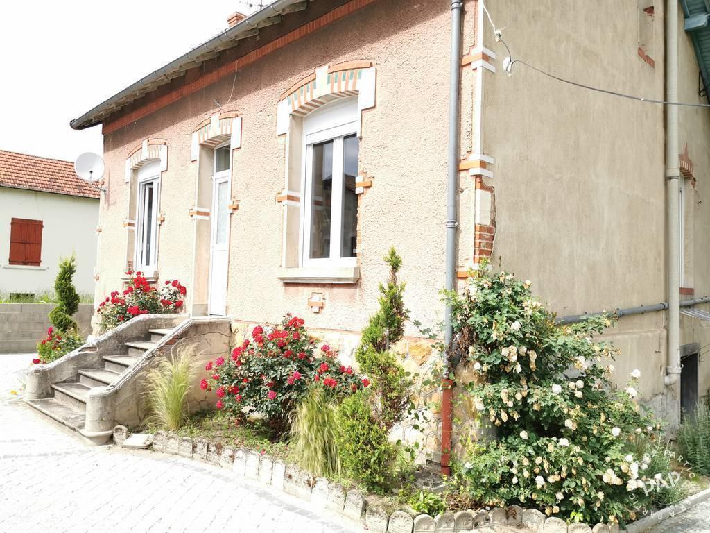 Vente maison 4 pièces Montluçon (03100)