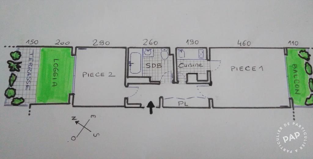 Appartement 570.000€ 37m² Paris 16E (75016)