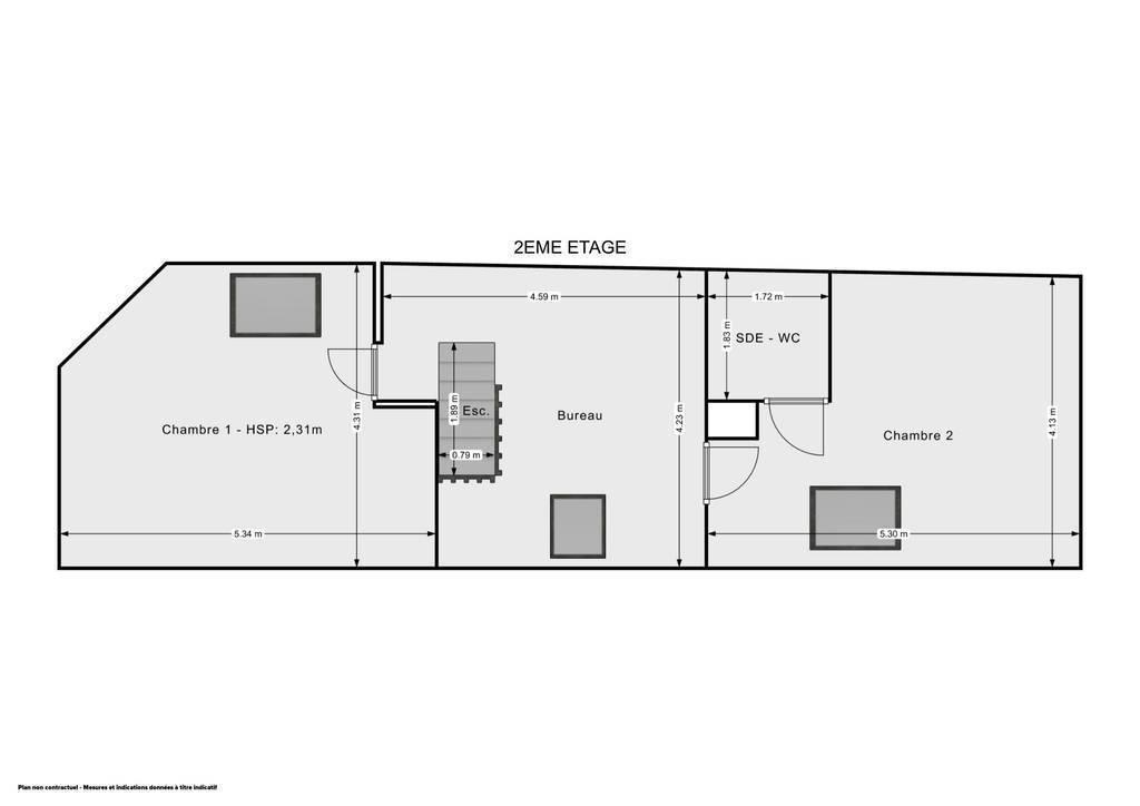 Vente immobilier 458.500€ Villeneuve-D'ascq (59493)
