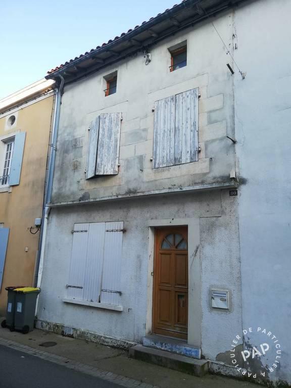 Vente maison 4 pièces Mauzé-sur-le-Mignon (79210)