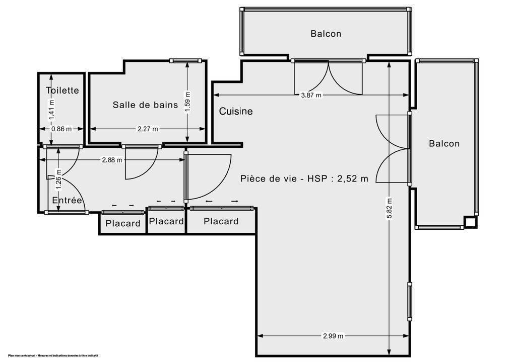 Vente Appartement Nice (06000) 30m² 200.000€