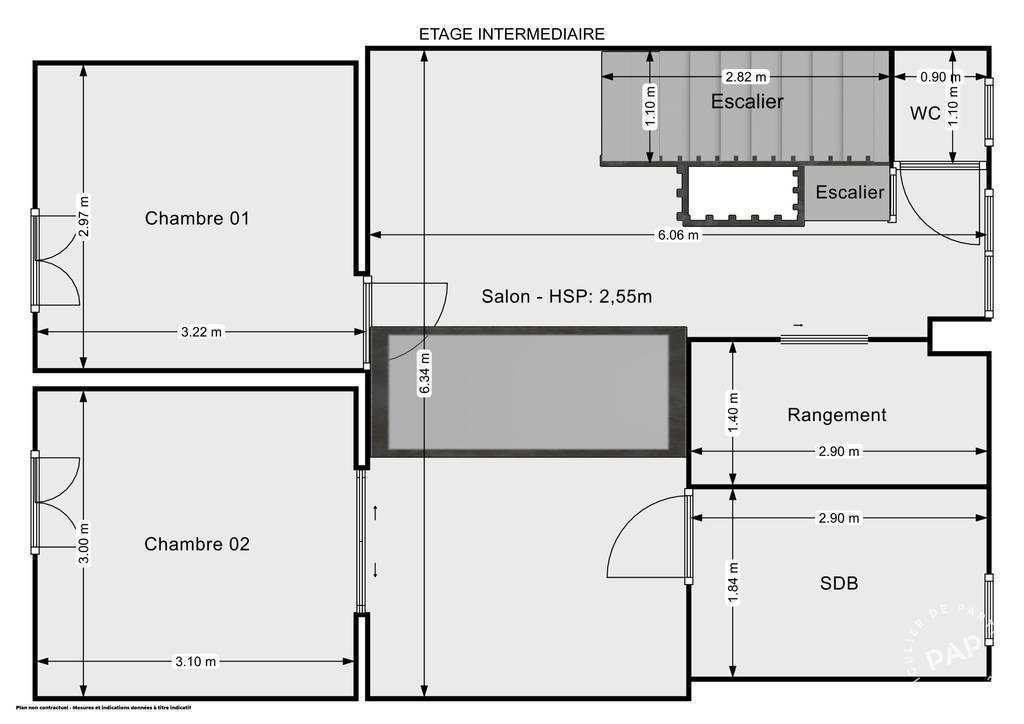 Vente Appartement Bordeaux (33800) 89m² 530.000€