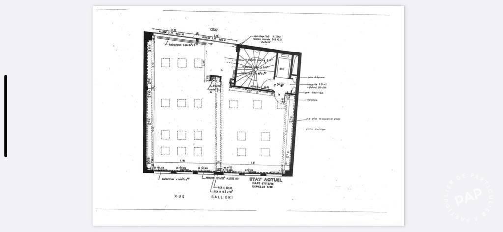 Vente et location Bureaux, local professionnel Boulogne-Billancourt (92100) 93m² 698.000€