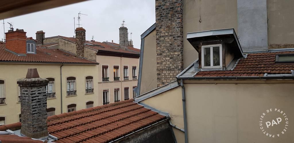 Location appartement 2 pièces Lyon 2e