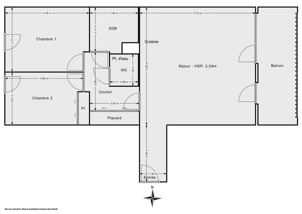 Appartement Saint-Genis-Pouilly (01630) 345.000€