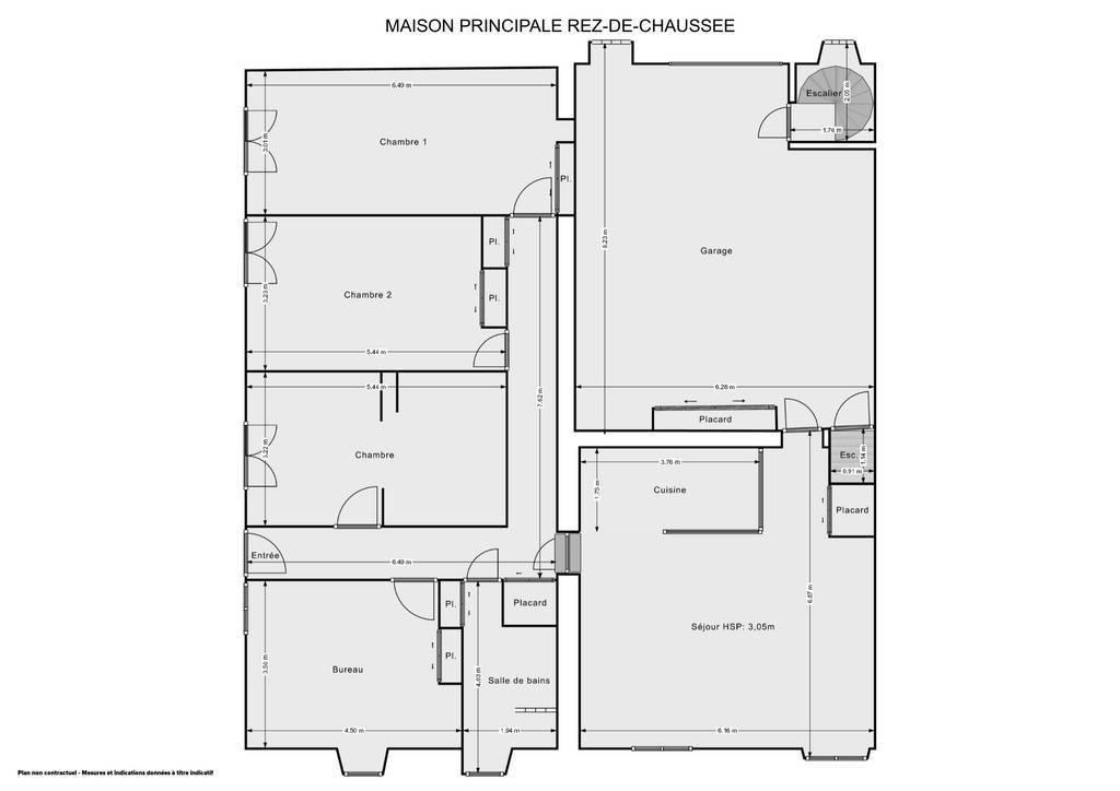 Vente Maison Bédarieux (34600) 400m² 360.000€