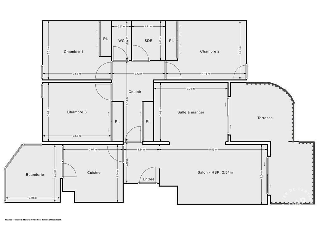 Vente Appartement Lumineux - Avec Terrasses - Ajaccio